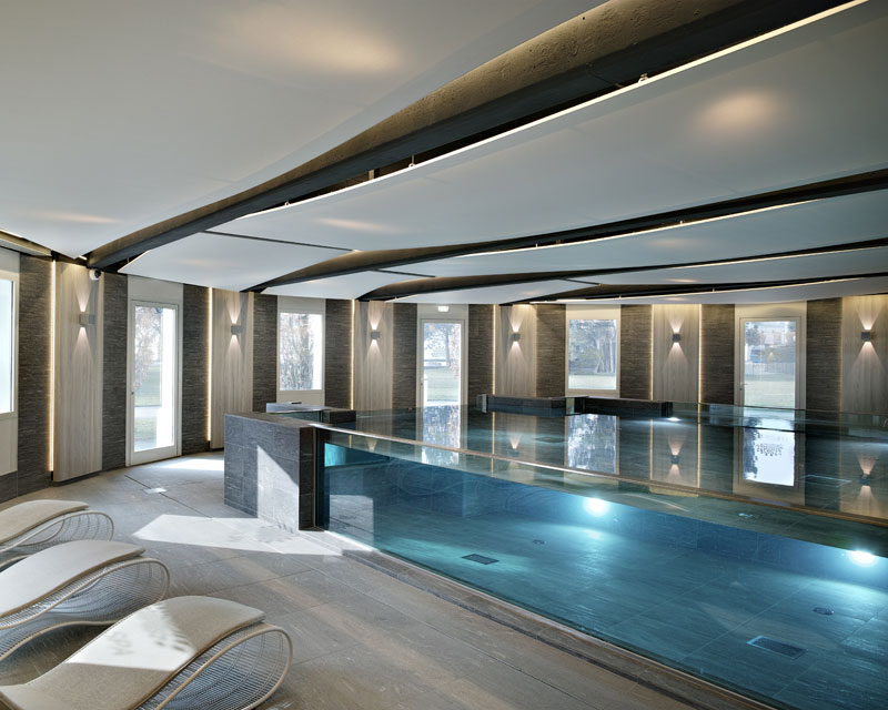 Piscine 74 r sidence h tel camping jbs piscines haute for Hotel piscine annecy