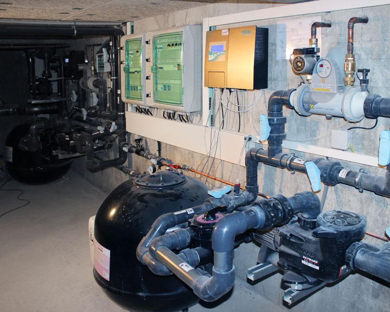 Traitement eau filtration d sinfection piscines spas 74 for Chauffage local piscine interieure